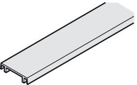 Einzelteile, To mounting profile and dual lower track 25x6 (1x1/4)