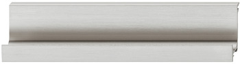 Inset Handle, Stainless Steel Look, Aluminum