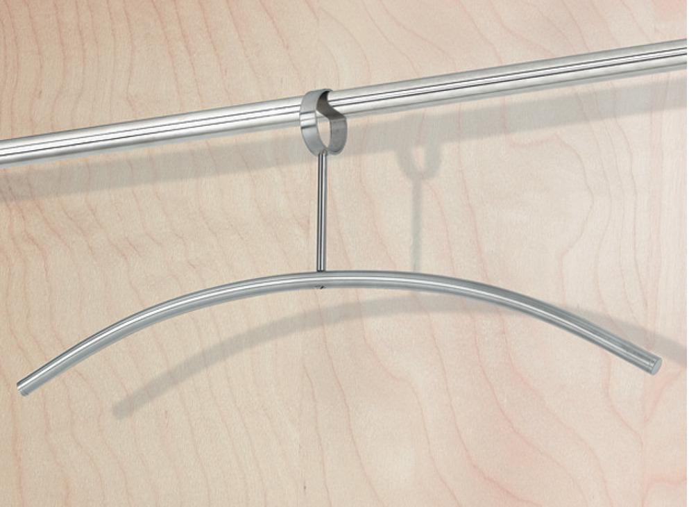 kleiderb gel aus edelstahl geschlossene se haken drehbar i h fele danmark shop. Black Bedroom Furniture Sets. Home Design Ideas